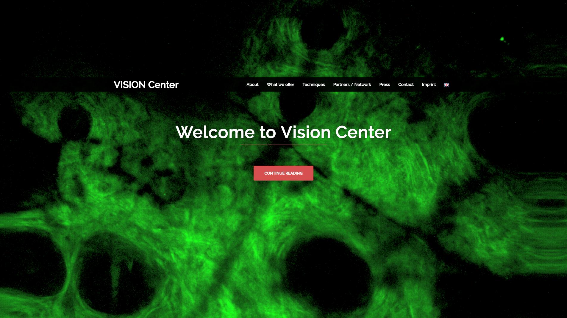 Virtuelt servicecenter VISION er nu online